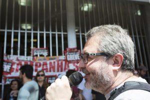 PORTO ALEGRE/RS/BRASIL                                                          Foto:Caco Argemi/SindBancários