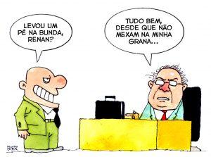 Renan cai por corrupção, mas não precisa devolver dinheiro